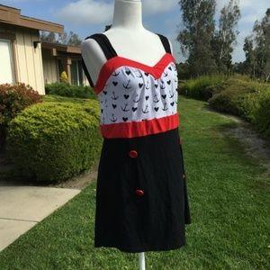 BK/R Sailor Dress